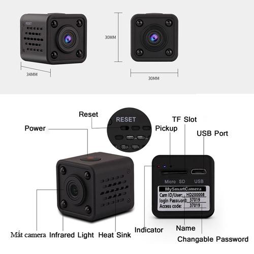 camera mini HD9 6
